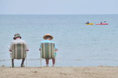 Sandy beaches - Sunset Cottage Park - Port Elgin, Ontario