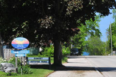 Close to the main beach - Sunset Cottage Park - Port Elgin, Ontario